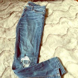 White House Black Market The Skinny Jeans size 0